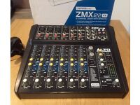 Alto Zephyr ZMX122FX 8 Channel Mixer with Effects, Original Packaging + New Power Supply