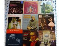 30 CLASSICAL/OPERA VINYL RECORDS
