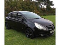 09 Vauxhall Corsa 1.4 Sxi*Black Gloss Alloys*Serviced*BARGAIN £1795!!