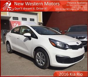 2016 Kia Rio LX HAIL SALE! LOW KM!