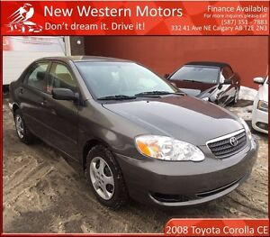 2008 Toyota Corolla CE LOW KM! BLOWOUT PRICING!