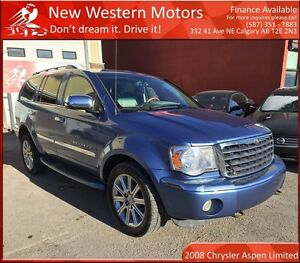 2008 Chrysler Aspen Limited FULLY LOADED/8 SEATS/AWD!