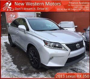 2013 Lexus RX 350 F Sport Executive FULLY LOADED! NO ACCIDENT!