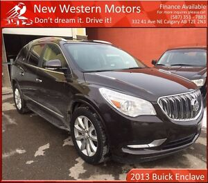 2013 Buick Enclave Premium TOP OF THE LINE! B.CAM! NAV!