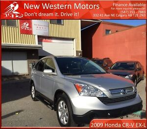 2009 Honda CR-V EX-L w/Navi/LOW KM/HAIL SALE!!