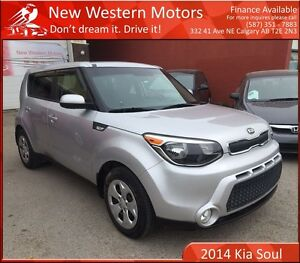 2014 Kia Soul LX VERY LIGHT HAIL! LOW KM!