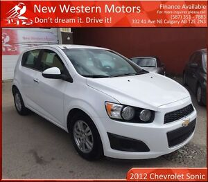 2012 Chevrolet Sonic LT HAIL SALE! LOW KM!