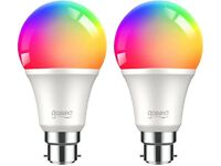 Smart Bulb RGB Color Smart LED Bulbs Work with Alexa, Google Home, Remote Control,