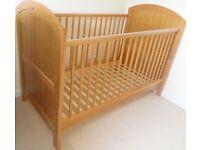 Cosatto cot bed & Mamas and Papas mattress