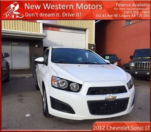 2012 Chevrolet Sonic LT LOW KM! MINT! HEATED SEATS! REMOTE START