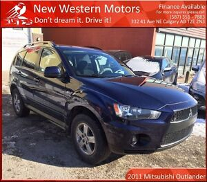 2011 Mitsubishi Outlander ES AWD! REMOTE START! LOW KM!