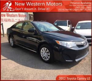 2012 Toyota Camry LE LIGHT HAIL!! LOW KM!!