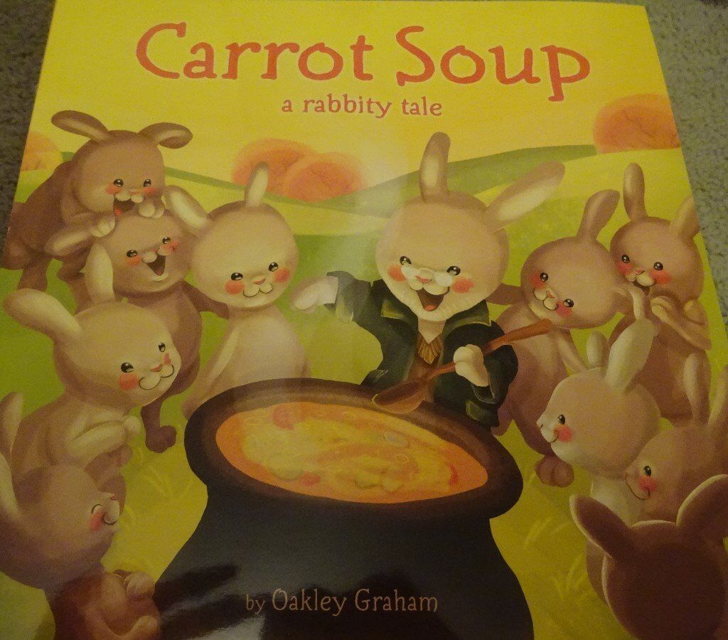 New Carrot Soup children kids story book bedtime only £1 ideal xmas gift