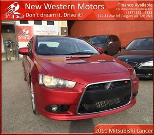 2011 Mitsubishi LANCER SPORTBACK Ralliart LOW KM! TWO SETS OF TI