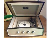 Vintage Mid Century Pye Achoic Box Projection System Type 1005 Record Player