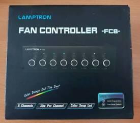 """LAMPTRON FC8 FAN CONTROLLER 5.25"""" - BLACK(8 Fan Controller)"""