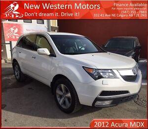 2012 Acura MDX SH-AWD 1 YEAR WARRANTY! 1 OWNER! BCAM!