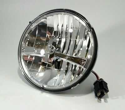 "UPI 31391 - Premium 5 High Power LED 7"" Dual Function Headlight - Chrome"