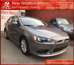 2015 Mitsubishi Lancer SE! HEATED SEATS! BLUETOOTH! EASY CITY DR