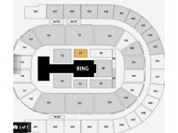 WWE LIVE Tickets x2 GREAT SEATS Blk C1 row H o2 Arena London Wed 29th August £299