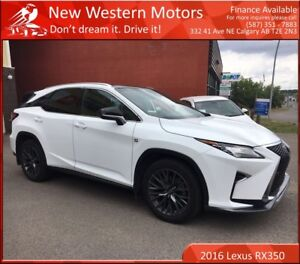 2016 Lexus RX 350 F SPORT SERIES 3!! ACCIDENT FREE!!! 1 OWNER!!!