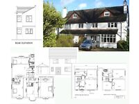 PLANNING PERMISSION DRAWINGS FOR VERY REASONABLE RATES
