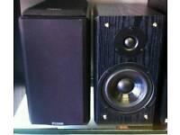 Fidek bookshelf monitor speakers