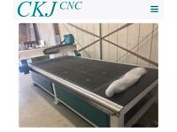 CKJ1530 4.5 kw spindle 5.5 kw Vac Pump 3 phase complete package set up and ready to run