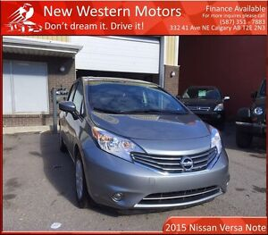 2015 Nissan Versa Note 1.6 SV LOW KM! B.CAM! XM RADIO! VERY LIGH