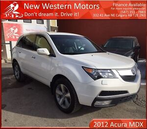 2012 Acura MDX SH-AWD B.CAM/1 OWNER/7 SEATS/HEATED LEATHER