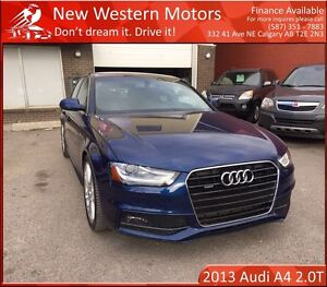 2013 Audi A4 2.0T S line Premium Plus (Tiptronic) FULLY LOADED!