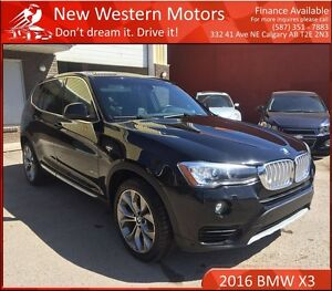 2016 BMW X3 xDrive28i 1 YEAR WARRANTY! NO ACCIDENT! BCAM!