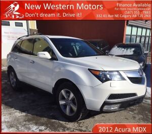 2012 Acura MDX SH-AWD 1 YEAR WARRANTY! 1 OWNER! BCAM!