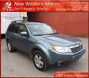 2009 Subaru Forester 2.5 X PREMIUM ONE OWNER! BELT CHANGED!