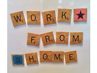 Earn an Extra £200 - £300 a month working from home part time.
