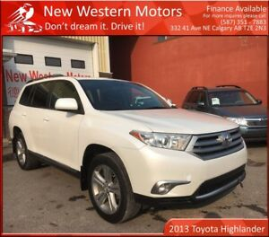 2013 Toyota Highlander V6 SPORT!! B.CAM! HEATED LEATHER! SUNROOF