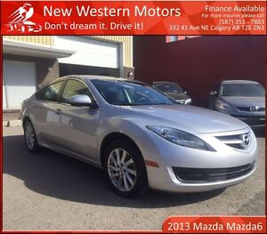 2013 Mazda MAZDA6 GS LOW KM! GREAT FOR COMMUTE!