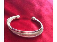Tiffany twist chainmail bracelet