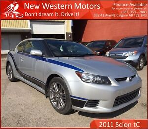2011 Scion tC 1 YEAR WARRANTY! LOW KM! REMOTE IGNITION!