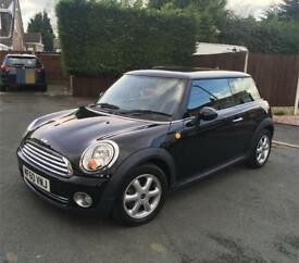 Mini Cooper Black 3 Door Hatchback