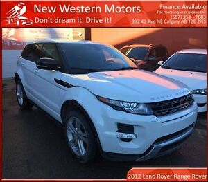 2012 Land Rover Range Rover Evoque Dynamic Premium 1 OWNER!