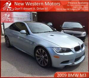 2009 BMW M3 SMG  NO ACCIDENT! VERY LOW KM!