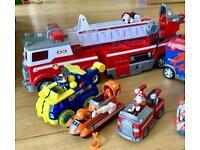 Bundle of Paw Patrol Toys