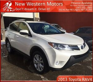 2013 Toyota RAV4 Limited TOP OF THE LINE! B.CAM! NAV! LOW KM!