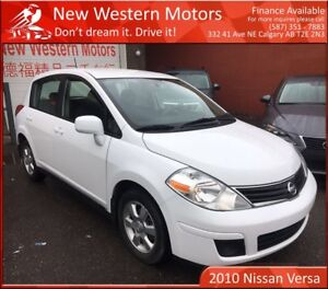 2010 Nissan Versa SL!! LOW KM!! READY FOR THE ROAD!!