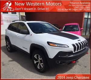 2014 Jeep Cherokee TrailHawk LTD ONE OWNER/NO ACCIDENT!