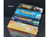 Scene It? TV & Movie Family Fun DVD Board Games Various Editions