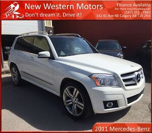 2011 Mercedes-Benz GLK-Class GLK350 4MATIC SUNROOF/LOW KM!