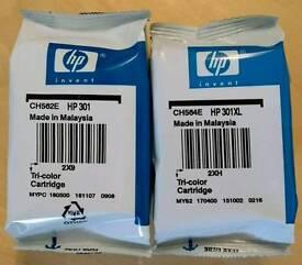 HP 301 & HP 301XL print cartridges