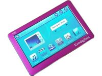 "EVODIGITALS PINK 16GB 4.3"" TOUCH SCREEN MP5 MP4 MP3 PLAYER - Brand New"